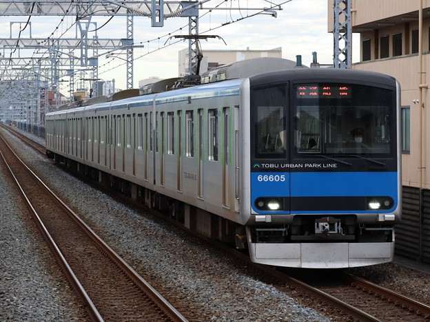 東武野田線60000系 61605F