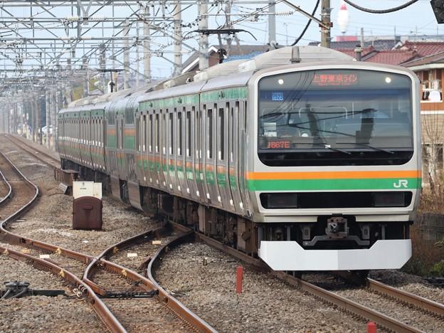 Photos: 高崎線E231系1000番台 U523編成