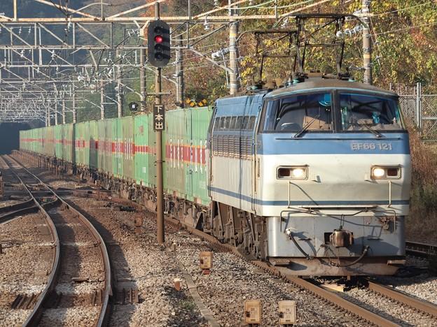 EF66 121+コキ【福山レールエクスプレス】