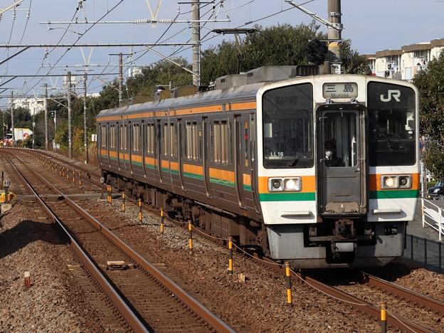 東海道線211系5000番台 LL16編成