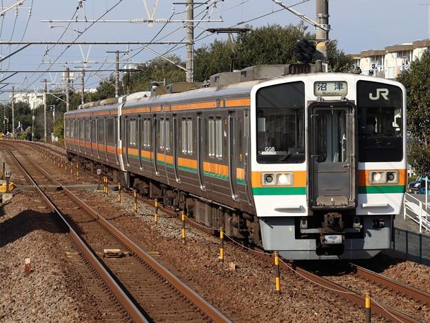 東海道線211系6000番台 GG6+T17編成