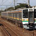 東海道線211系6000番台 GG7+LL10編成
