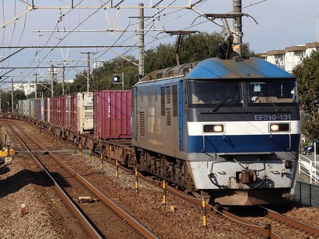 Photos: EF210-131+コキ