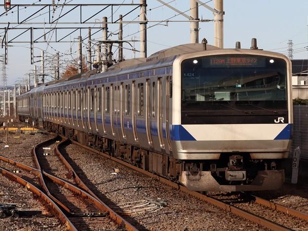 常磐線E531系 K424編成