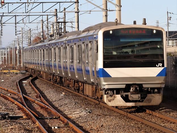 水戸線E531系 K453編成