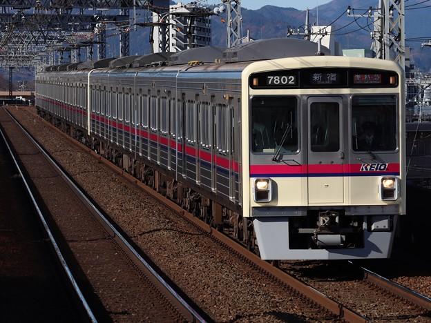 京王線7000系 7802F+7708F