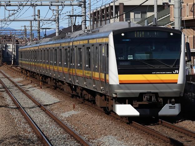 南武線E233系8000番台 N33編成