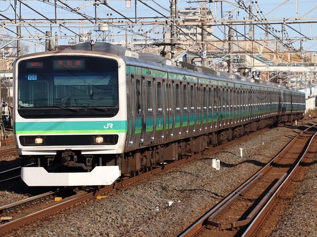 Photos: 常磐快速線E231系0番台 マト106+マト127編成