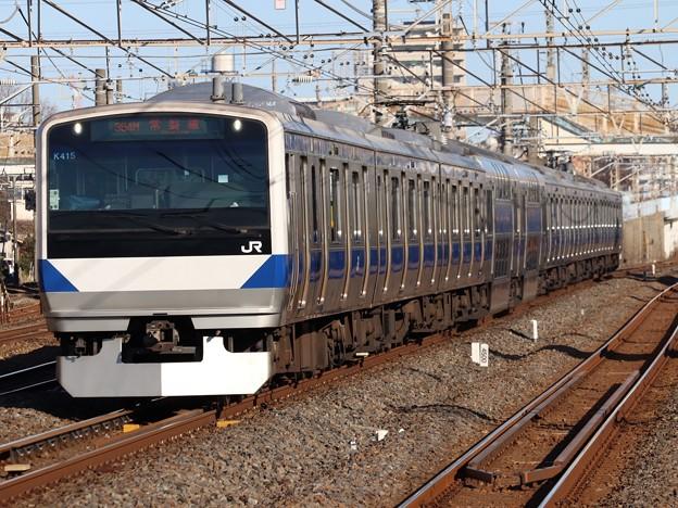 常磐線E531系 K415編成