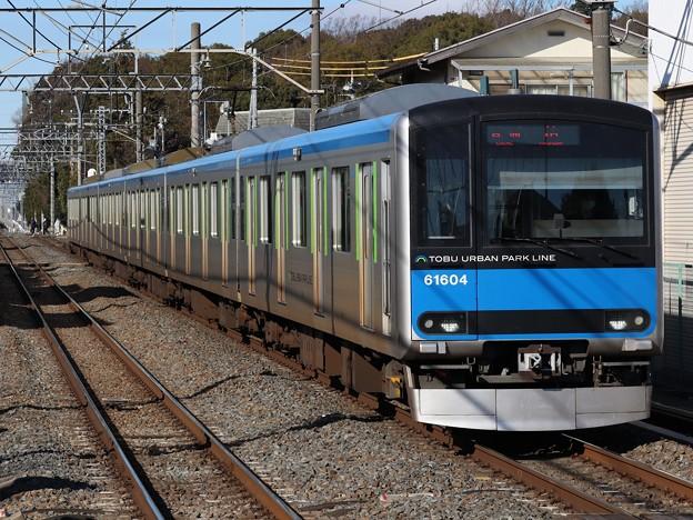 東武野田線60000系 61604F