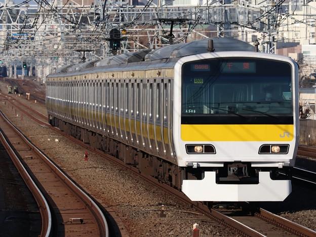 中央・総武緩行線E231系500番台 A506編成