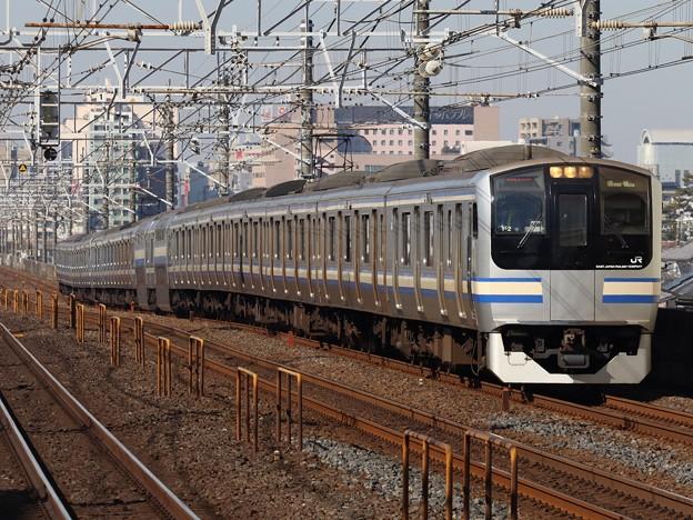 横須賀・総武快速線E217系 Y-2+Y-103編成