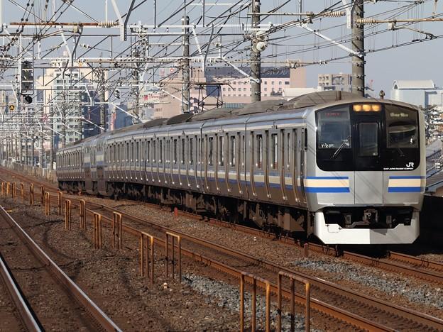 横須賀・総武快速線E217系 Y-23編成