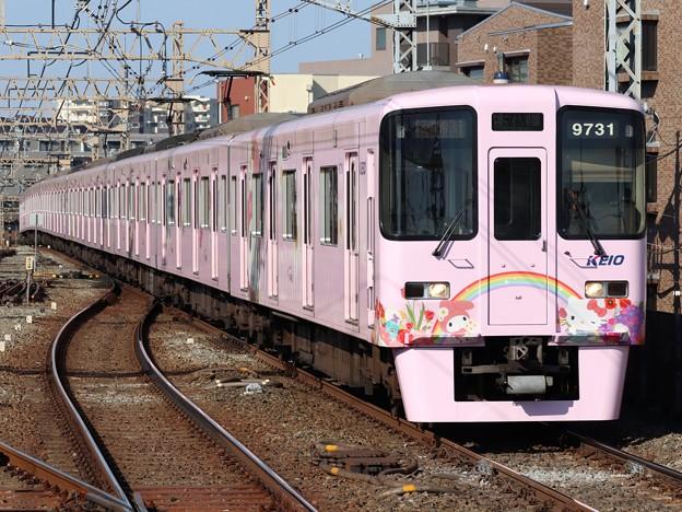 京王線9000系 9731F【サンリオラッピング】
