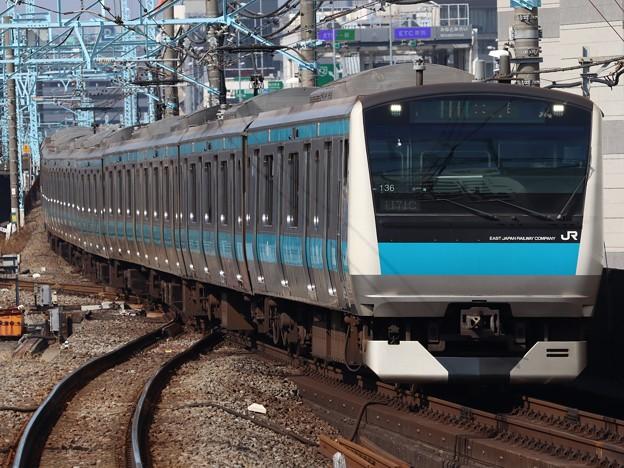 京浜東北・根岸線E233系1000番台 サイ136編成