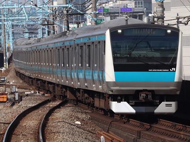 京浜東北・根岸線E233系1000番台 サイ110編成