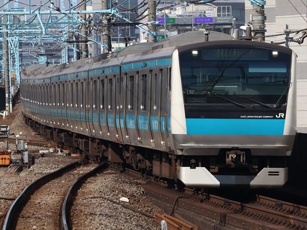 京浜東北・根岸線E233系1000番台 サイ132編成