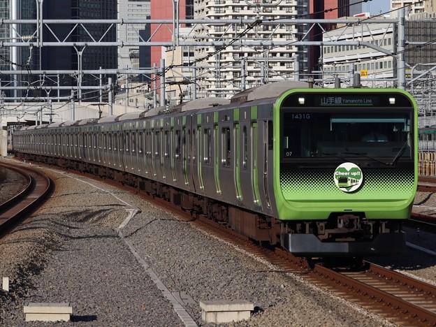 山手線E235系 トウ07編成【Cheer up!!】