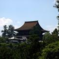 北闕門から見た金峯山寺蔵王堂