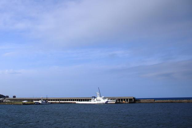 稚内港と北防波堤ドーム