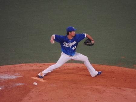 4/14(金) 昇竜デーは延長戦 三ツ間、田島、祖父江、岩瀬、佐藤投手の継投です。