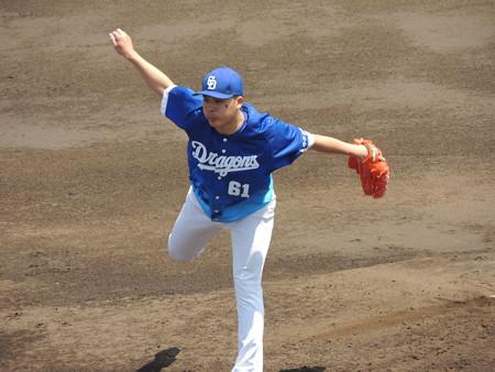若松駿太投手。