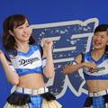 写真: 杉本さんと宮川さん。