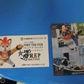 写真: B☆B フレップのカード。