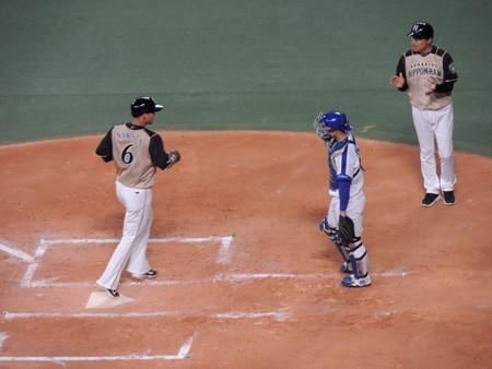 中田翔選手。