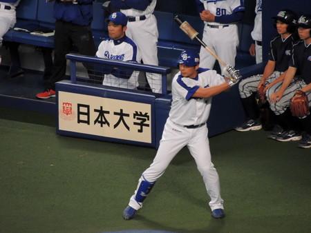 森野将彦選手。