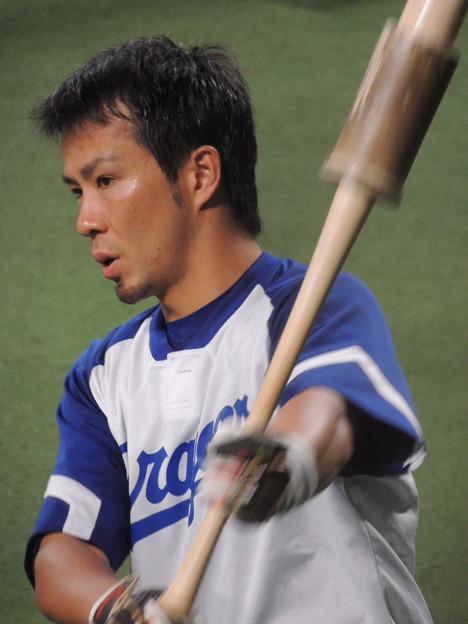 写真: 福田永将選手。