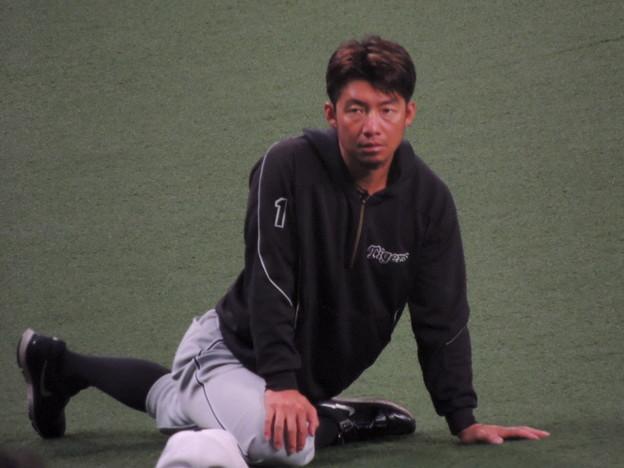 写真: 鳥谷敬選手。