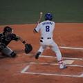 写真: 大島洋平選手。