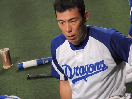 荒木雅博選手。