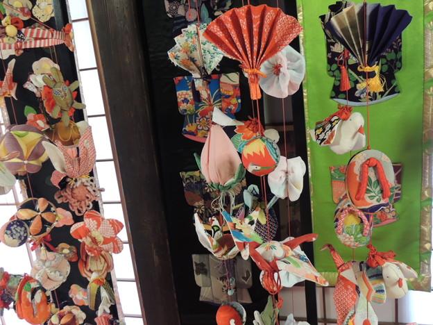 Photos: つるし雛飾り。