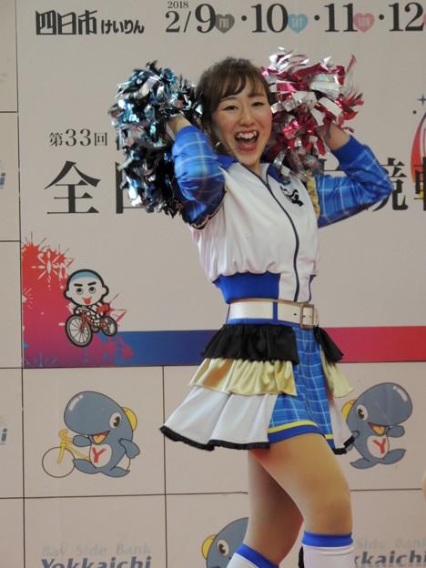 写真: 中島未来さん。