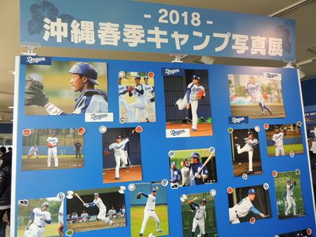 左上は松井雅人捕手。