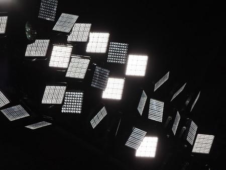 LED照明。