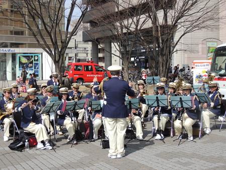 消防音楽隊。