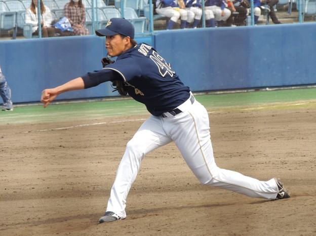 オリックス 斎藤投手。