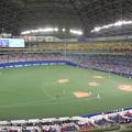 写真: パノラマA 三塁側。