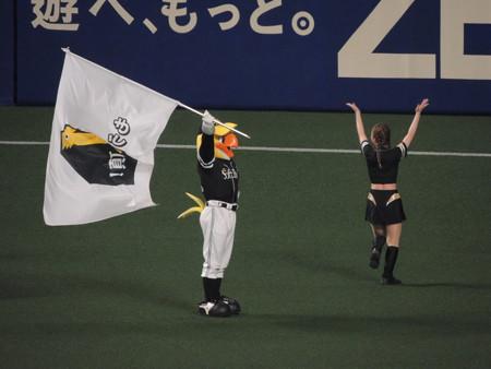6/10(日) 福岡SB戦のラッキーセブンとか ドアラとハリーホークのバク転対決とか・・・。