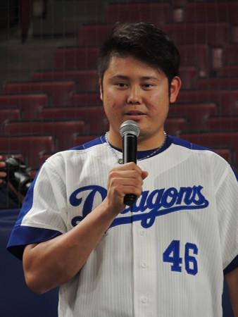 鈴木博志投手ご挨拶。