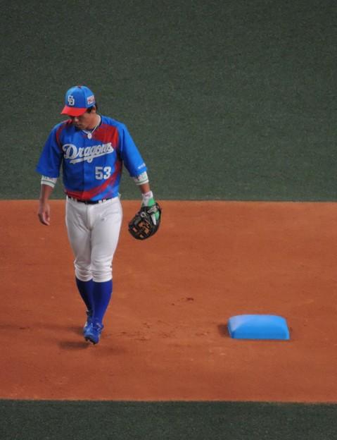 ベースも青かった。