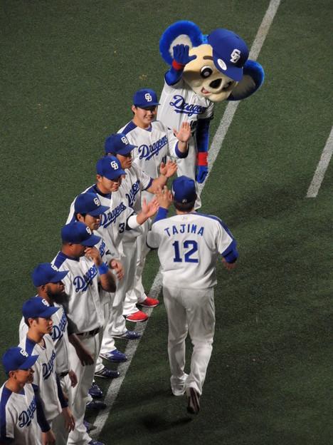 田島慎二選手。