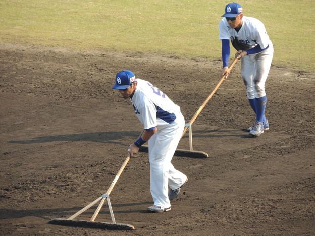 福ちゃんと京田くん。