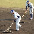写真: 福ちゃんと京田くん。
