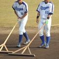 Photos: 高松くんと亀澤選手。