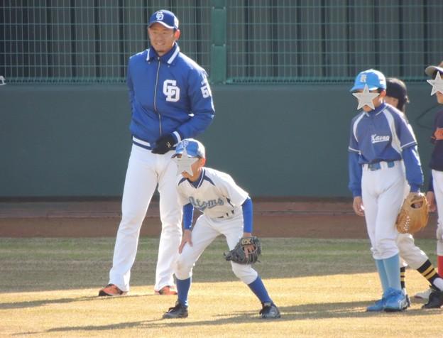 松井佑介選手。