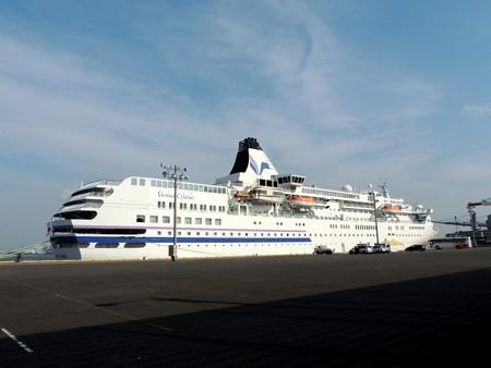 豪華客船。
